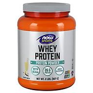 Whey Protein, Creamy Vanilla Powder Bổ sung 26g Protein cho người luyện tập thể thao, được xử lý và chiết xuất từ nguồn đạm Whey chất lượng cao để tối ưu khả năng hấp thu 5,900mg Axit amin (BCAA) và 460mg Glutamine (907 gram) thumbnail