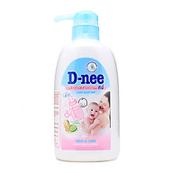 Nước rửa bình sữa D-nee Mild & Care chai 500ml thumbnail