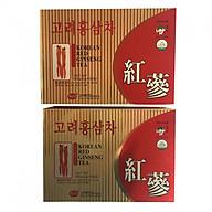 Combo 2 Hộp thực phẩm chức năng Trà hồng sâm Kgs Hàn Quốc 150g (3gr x 50 gói) thumbnail