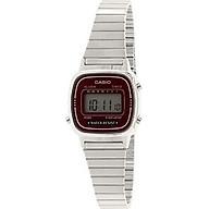 Casio Women s Digital Watch with Metal Bracelet LA-670WA-4 thumbnail