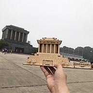 Đồ chơi lắp ráp gỗ 3D Mô hình Lăng Chủ tịch Hồ Chí Minh - Mô hình Lăng Bác Hồ - Tặng kèm Đèn LED thumbnail