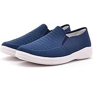 Giày Sneaker Thể Thao Đế Êm Chất Vải Jeans TN85 - Xanh navy thumbnail