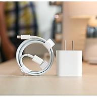 Củ Sạc Nhanh 20W Dành Cho iPhone 12, 12Mini, 12Pro, 12Pro Max, iPad, Macbook - Kèm Cáp Sạc Chuẩn TypeC to Lightning thumbnail