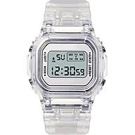 Đồng Hồ thể thao nữ KASAWI K001 đồng hồ điện tử nữ mặt vuông thời trang 2020 dây trong silicon thumbnail