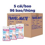 Thùng 96 bao quần lót giấy du lịch tiện lợi nữ PP Travel - Mate 5 quần bao thumbnail