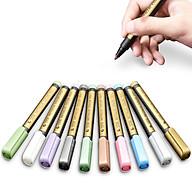 Bộ 10 Bút Nhũ Metallic Color Pen, Vẽ Được Trên Mọi Chất Liệu thumbnail