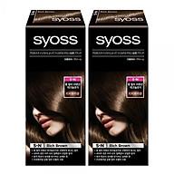 Saios Professional Hair Color Satch Cover 5-N Rich Brown 2 pieces thumbnail