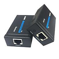 Bộ kéo dài HDMI-J45 qua dây mạng lan 50M-Cat5e 60M-Cat6 thumbnail