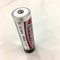 Pin Li-Ion 18650 3.7V Dung lượng 2600mAh hàng cao cấp thumbnail