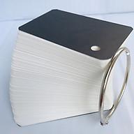 100 Thẻ Flashcard Trắng 4.5 x 8 x 3.7cm Học Tiếng Anh Kèm Khoen Bìa thumbnail