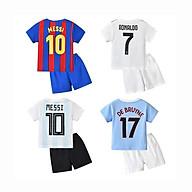 Bộ quần áo bóng đá cộc tay QATE483 644 cho bé trai thumbnail
