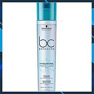 Dầu gội Schwarzkopf BC Bonacure Hualuron Moisture Kick Micellar shampoo giữ ẩm tóc khô giòn và xoăn Đức 250ml thumbnail