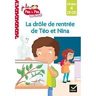 Sách tập đọc tiếng Pháp - Téo et Nina niveau 4 - La drôle de rentrée de Téo et Nina thumbnail