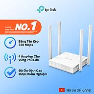 Bộ phát wifi TP-Link băng tần kép AC750 Archer C24 Modem wifi hàng chính hãng TP Link - Cục phát wifi TPLink router wifi TP link thumbnail