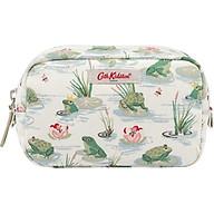 Túi mỹ phẩm Cath Kidston họa tiết Bathing Frogs nhỏ (Box Make Up Bag Bathing Frogs) thumbnail