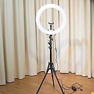 Bộ 1 cây đèn led hỗ trợ live stream bán hàng make up trang điểm thumbnail