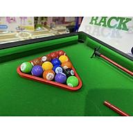 Bàn bi- a lót nỉ size 58cm giải trí ( Bàn Bida lỗ Mini trò chơi giải trí tại nhà cho cả gia đình đủ phụ kiện ) thumbnail