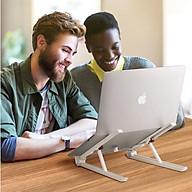 Gía kệ đỡ laptop macbook tản nhiệt nhỏ gọn tiện lợi thông minh dễ di chuyển thumbnail