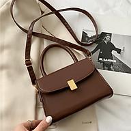 Túi xách đeo chéo đi chơi nhỏ gọn hợp thời trang, túi đeo chéo da PU chất lượng, có nhiều ngăn để đựng điện thoại và các vật dụng cần thiết thumbnail