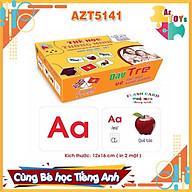 Thẻ Học Thông Minh Song Ngữ Flashcard Theo Chủ Đề (Size To) - AZT5141 thumbnail