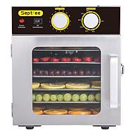 Máy sấy thực phẩm Septree 6 khay có đèn UV diệt khuẩn - Sấy hoa quả, làm khô gà, khô bò, sấy dược liệu, sấy hạt - Hàng chính hãng nhập khẩu thumbnail