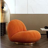 LUX. Sofa lười đế kim loại gold sang chảnh - Ghế lười phòng ngủ (kt 72x88x78cm) thumbnail