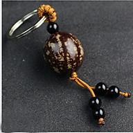 Móc khóa hạt bồ đề tự nhiên mang lại bình yên và may mắn MK09 thumbnail