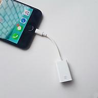 Cáp OTG Lightning dành cho iPhone, iPad kết nối với bàn phím, chuột, USB thumbnail