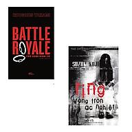 Bộ 2 cuốn tiểu thuyết kinh dị nổi tiếng nhất Nhật Bản Trò Chơi Sinh Tử - Vòng Tròn Ác Nghiệt thumbnail