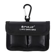 Túi Đựng Pin Máy Ảnh Chất Liệu PVC Puluz Lipo (12.2cm x 8.7cm) - Đen thumbnail