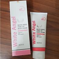 Kem Dưỡng Trắng Body White Angel cao cấp Tone Up Body Cream Skinaz kem dưỡng trắng da toàn thân cao cấp nhập khẩu 100% từ Hàn Quốc 200ml thumbnail