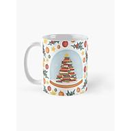 Cốc sứ uống trà cà phê in hình cây thông Noel - cốc quà tặng giáng sinh thumbnail