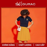 Chân váy nữ GUMAC thiết kế dập ly dáng ngắn VA1233 Teen thumbnail
