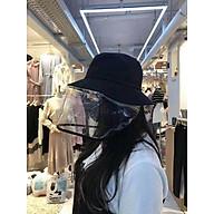 Mũ, nón vải thêu có tấm kính trong suốt chống dịch, chắn khói bụi - Giao hình ngẫu nhiên thumbnail