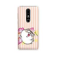 Ốp lưng dẻo cho điện thoại Nokia 6.1 plus X6 - 01171 7843 MEO06 - Mèo Ami - Hàng Chính Hãng thumbnail