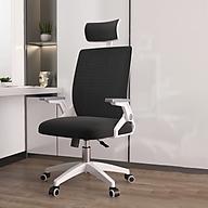 Ghế chơi game tay ghế có thể điều chỉnh chân xoay có tựa đầu - Hàng chính hãng thumbnail