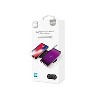 Bộ Sạc Không Dây Đồng Thời 2 Thiết Bị công suất 20W Dual Fast Wireless Charger 10W Actto MTA-17 - Hàng chính hãng thumbnail
