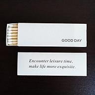 Diêm dài đốt nến Good Day - 10cm cao cấp thumbnail