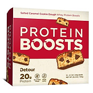 Whey Protein Bar DETOUR SIMPLE 20g protein bar (hộp 12 bar) nhập khẩu USA thumbnail
