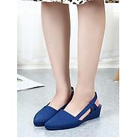 Giày sandal nhựa đi mưa cao cấp siêu nhẹ 5 phân V183 thumbnail