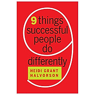 Nine Things Successful People Do Differently (Hardback) thumbnail
