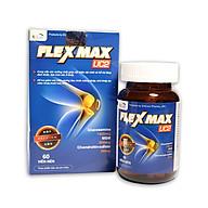 Viên Uống Bổ Xương Khớp Glucosamine 1500mg Flexmax Giảm đau nhức mỏi xương khớp, giảm thoái hóa khớp, giảm viêm khớp - Hộp 60 viên thumbnail