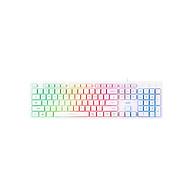 Bàn phím có dây dùng chơi game thể hiên đèn LED 7 màu - LED Keyboard Actto KBD-42 - Hàng chính hãng thumbnail