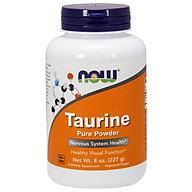 Taurine Pure Powder Hỗ trợ các xung hệ dẫn truyền thần kinh, giúp điều hòa lượng nước và khoáng chất ở trong máu (227gram) thumbnail