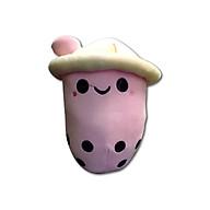Gấu Bông Gối Ôm Thú Bông, Nhồi Bông Hình Ly Trà Sữa Ống Hút Hồng Xinh Xắn Ngộ Nghĩnh Quà tặng Đáng Yêu 30cm (Màu Hồng) thumbnail
