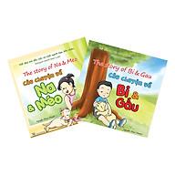 Combo 2 Cuốn Truyện Tranh Song Ngữ Câu Chuyện Bi & Gấu Và Na & Méo thumbnail