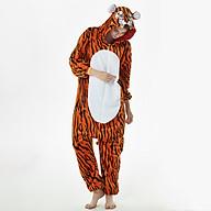 Fleece Onesie Pajamas Cute One-Piece Animal Costume Party Homewear Sleepwear for Women Men thumbnail
