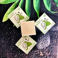Xà phòng Mảng cầu Adeva Naturals (3 bánh - 100 gr 1 bánh) - Xà phòng handmade với thành phần từ thiên nhiên, an toàn dịu nhẹ, cho làn da mềm mại - Không gây khô rít da thumbnail