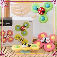 Set 3 đồ chơi con quay spinner hình côn trùng vui nhộn cho bé thumbnail