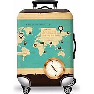 Túi bọc bảo vệ vali cao cấp + tặng 01 túi đựng giày chống thấm thumbnail